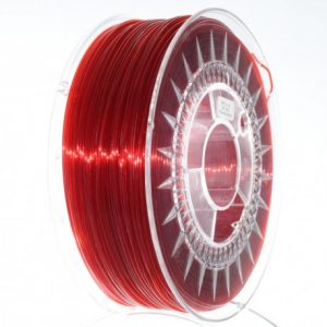 pet-g-Ruby red, rosu stralucitor transparent