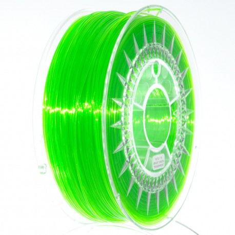 pet-g- bright green verde deschis tranparent